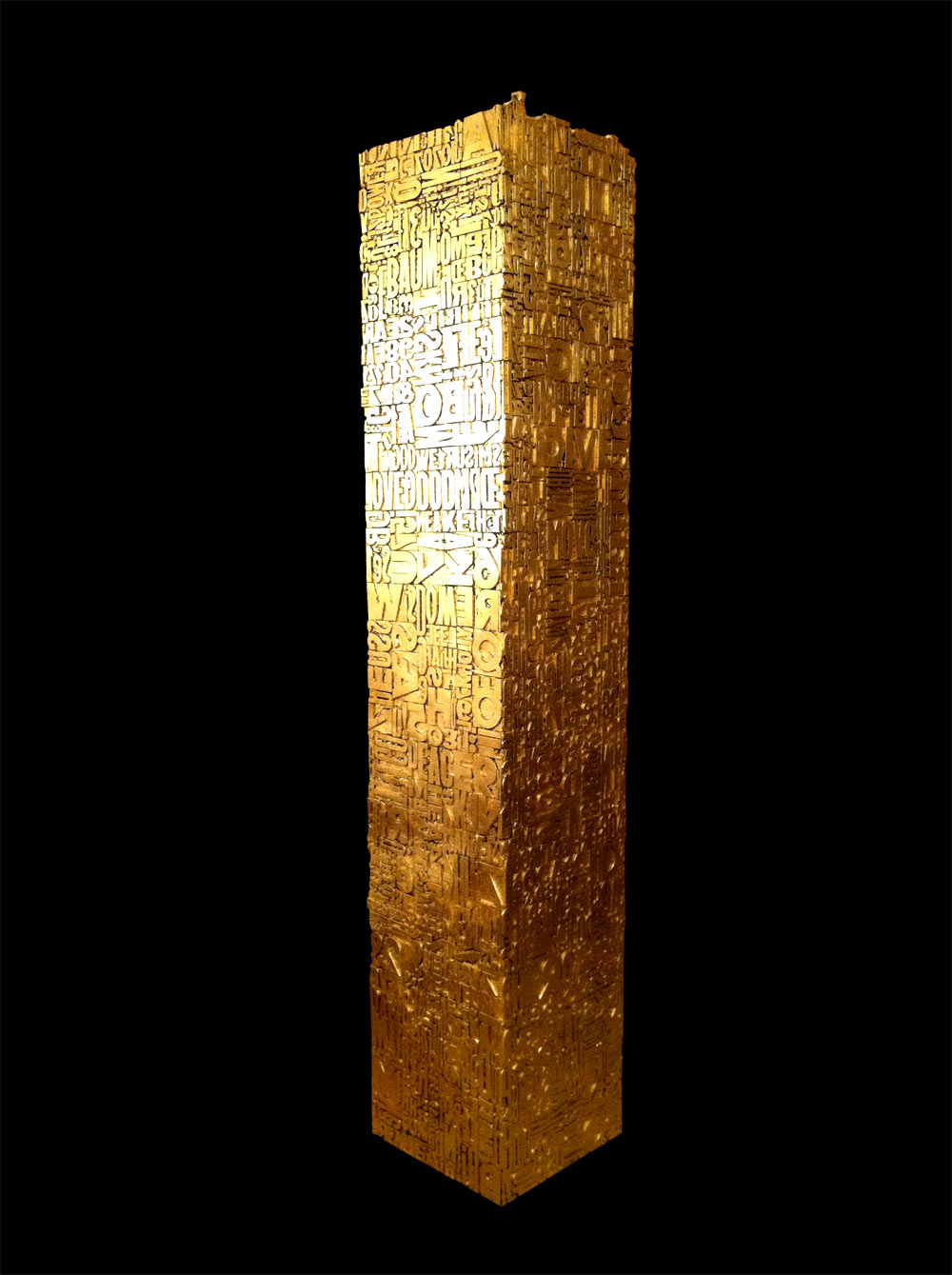 Karl Lagasse - Cryptogram One - Gold photo 1